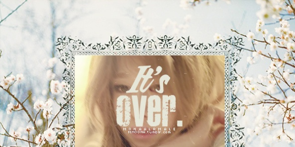 It's-over
